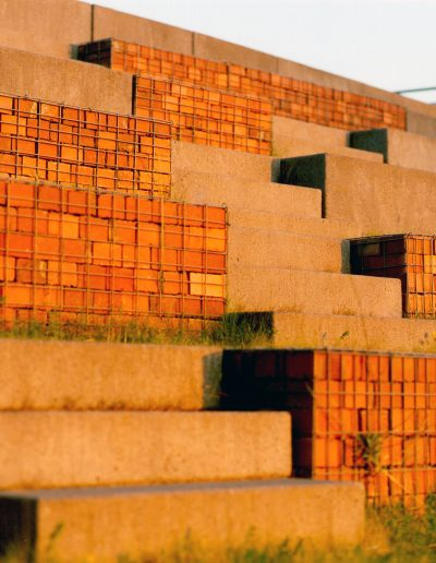 Westpark Bochum - Treppe-Detail