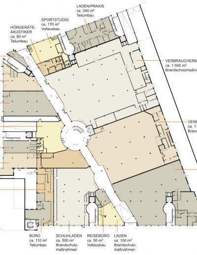 Zollstockarkaden - Plan EG