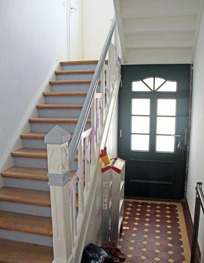 Haus Ley Treppenhaus und Eingang