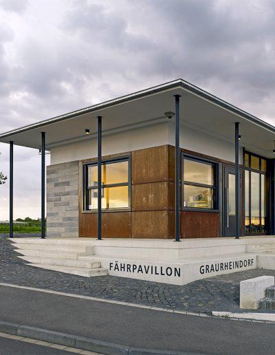 Fährpavillon Graurheindorf Bild 1