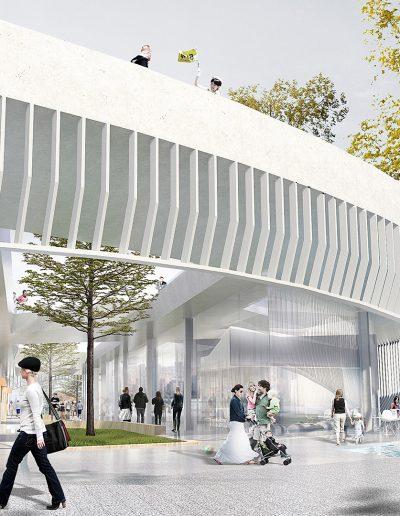 Bauhaus-Museum-Dessau - Perspektive 2