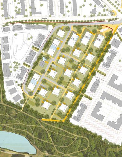 Kassel-WB - Lageplan