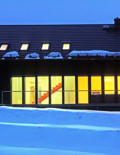 Haus Krausse - außen-abends
